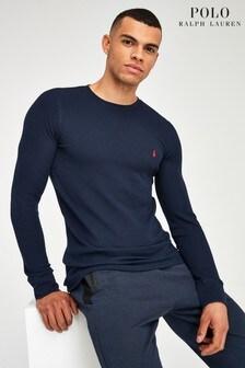 חולצת ג׳רזי מכותנה של Polo Ralph Lauren