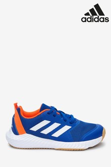 adidas Gym Blue/Orange Forta Junior & Youth Trainers