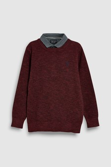 Mockshirt Jumper (3-16yrs)