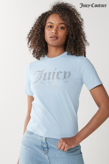 Juicy Couture Velour Anniversary Numerial T-Shirt