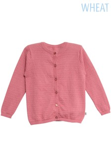 Wheat Pink Manuela Knit Cardigan