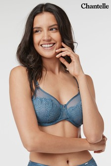 Chantelle Blue Pyramide Underwired Bra