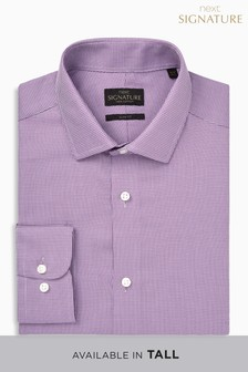 Signature Textured Slim Fit Shirt