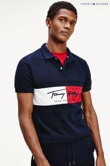 Tommy Hilfiger Autograph Flag Slim Poloshirt