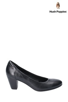 Hush Puppies Black Erin Slip-On Shoes
