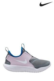 Nike Pink/Grey Flex Runner Junior Trainers
