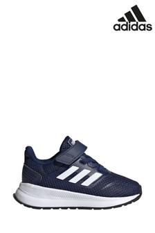נעלי ריצה Falcon לילדים עם רצועת הידוק של adidas