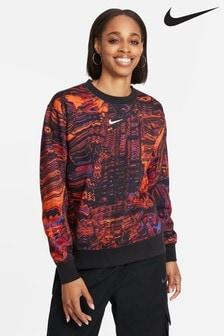 Nike Dance Trend Fleece Printed Crew