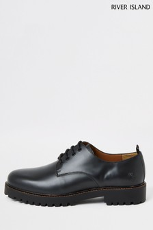 River Island Ren Chunky Sole Derby Shoes
