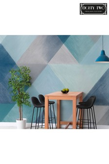 Exclusive To Next Chalky Geo Wall Mural by Eighty Two