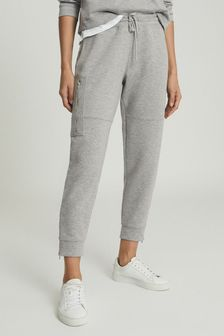 Reiss Grey Angelina Jersey Joggers