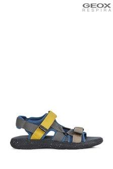 Geox Men's Goinway Cream Sandals