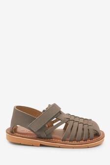 Nubuck Huarache Sandals (Younger)