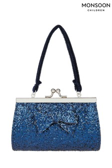 Monsoon Rylee Glitter Bow Mini Bag