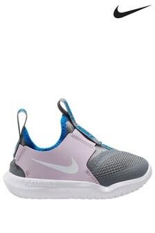 Nike Pink/Grey Flex Runner Infant Trainers