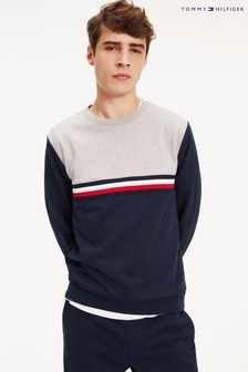 Tommy Hilfiger Grey Colourblock Sweatshirt