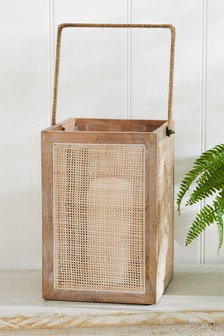Cane And Wood Lantern