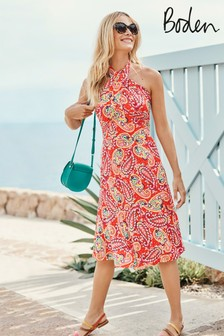 Boden Red Lilah Multiway Dress