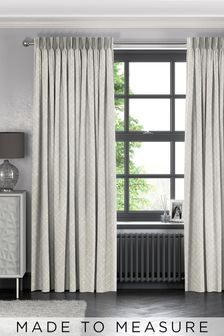 Arket Putty Grey Made To Measure Curtains