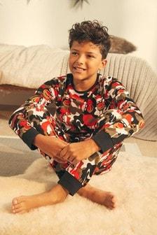 Older Boys Red Christmas Pyjamas (9mths-16yrs)
