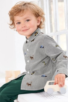 Embroidered Shirt (3mths-6yrs)