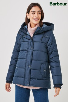 Barbour® Navy Coastal Tidepool Lightweight Quilted Jacket