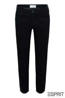 Esprit Black Rinse Stretch Denim Jeans