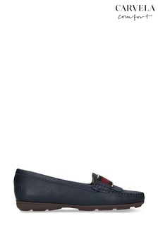 Carvela Comfort Candy Navy Loafers