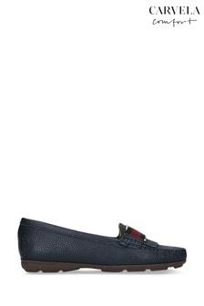 Carvela Comfort Candy Navy Loafers