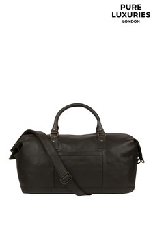 Pure Luxuries London Cargo Leather Holdall