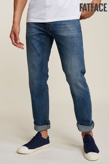 FatFace Blue Stonewash Straight Jean