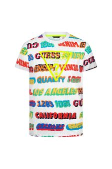 Guess Boys Multi Cotton T-Shirt