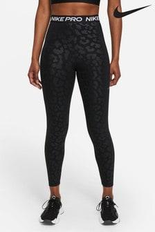 Nike Pro Leopard High Rise 7/8 Leggings
