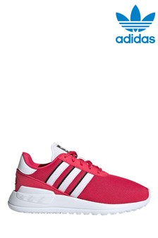 adidas Originals Pink/White Lite Runner Junior Trainers