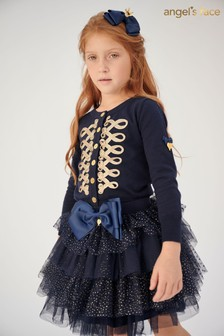Angel's Face Navy Skirt