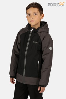 Regatta Black Hurdle Iii Waterproof Jacket
