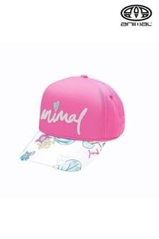 Animal Pink Blossom Cap