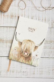 Highland Cow Diary