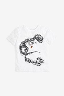 Dinosaur Football T-Shirt (3-16yrs)
