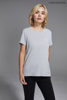 Calvin Klein Jeans Slim Fit Embroidered T-Shirt