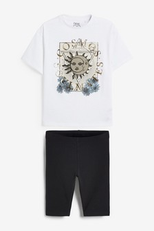 Cosmos T-Shirt & Cycling Shorts Set (3-16yrs)
