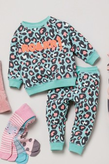 Leopard Co-ord Set (3mths-7yrs)