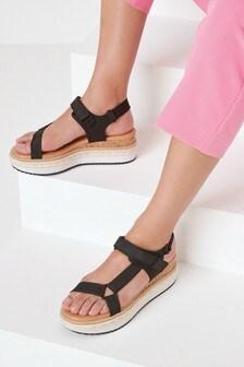 Sport Wedge Flatform Sandals