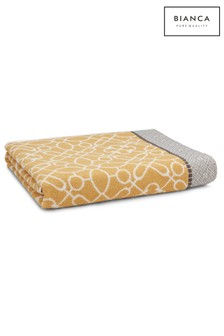 Cassia Cotton Towel by Bianca