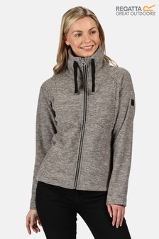 Regatta Grey Zaylee Full Zip Fleece Jacket