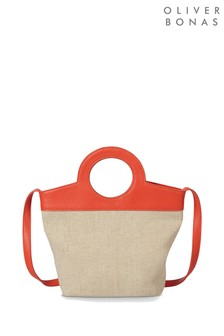 Oliver Bonas Hallie Canvas Cross Body Bag