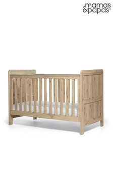 Mamas & Papas Atlas Pale Oak Cot Bed