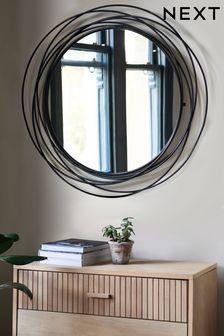 Contemporary Wire Mirror