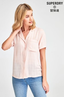 Superdry Pink Check Shirt