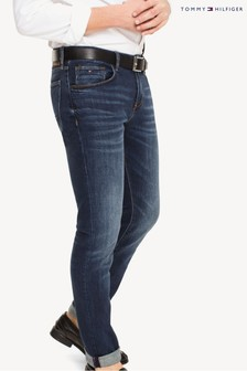 Tommy Hilfiger Blue Core Dark Stone Slim Bleecker Jeans